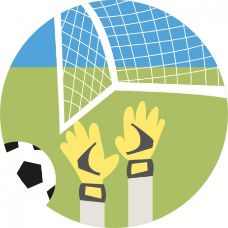 Football Goalkeeper Insert