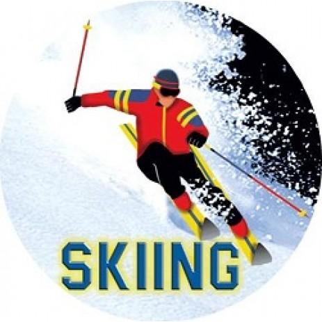 Skiing Insert