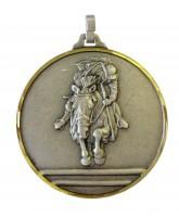 Diamond Edged Equestrian Show Jumping Silver Medal