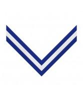 Blue, White & Blue 3 Stripe Clip on Medal Ribbon