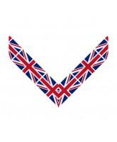 Clip on Medal Ribbon Union Jack