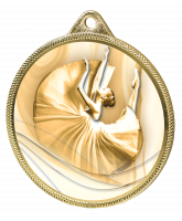 Ballet Classic Texture 3D Print Gold Medal