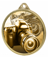 Photography Classic Texture 3D Print Gold Medal