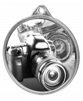 Photography Classic Texture 3D Print Silver Medal