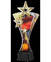 Triple Star Clay Pigeon Shooting Trophy