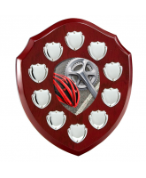 Anglia Cycling Rosewood Wooden 10 Year Annual Shield