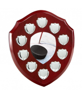 Anglia Ice Hockey Rosewood Wooden 10 Year Annual Shield