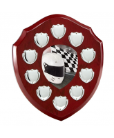 Anglia Motorsports Rosewood Wooden 10 Year Annual Shield