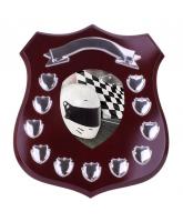 Mercia Motorsports Mahogany Wooden 11 Year Annual Shield
