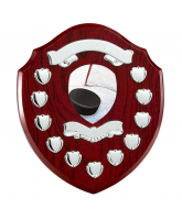Northumbria Ice Hockey Rosewood Wooden 11 Year Annual Shield
