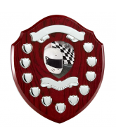 Northumbria Motorsports Rosewood Wooden 11 Year Annual Shield