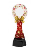Christmas Red Wreath Trophy