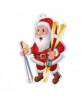 Jolly Father Christmas Ski Medal