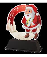 Santa Rugby Christmas Trophy