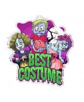 Halloween Best Costume Medal