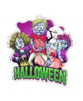 Halloween Monsters Medal