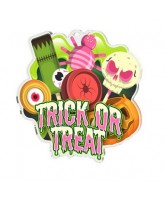 Halloween Trick or Treat Medal
