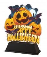 Happy Halloween Pumpkin Trophy
