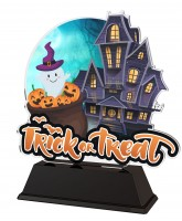 Haunted House Trick or Treat Trophy