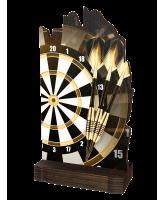 Shard Classic Darts Eco Friendly Wooden Trophy
