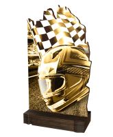 Shard Classic Motorsports Eco Friendly Wooden Trophy