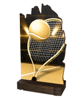 Shard Classic Tennis Eco Friendly Wooden Trophy