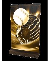 Sherwood Classic Baseball Eco Friendly Wooden Trophy