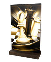 Sherwood Classic Chess Eco Friendly Wooden Trophy