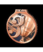 Habitat 3rd Place Bronze Eco Friendly Wooden Medal