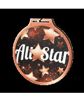 Habitat All Star Bronze Eco Friendly Wooden Medal