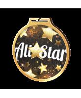 Habitat All Star Gold Eco Friendly Wooden Medal