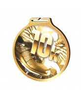 Habitat Classic 10k Run Gold Eco Friendly Wooden Medal
