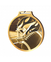 Habitat Classic American Football Gold Eco Friendly Wooden Medal