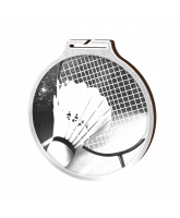 Habitat Classic Badminton Silver Eco Friendly Wooden Medal