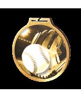 Habitat Classic Baseball Gold Eco Friendly Wooden Medal