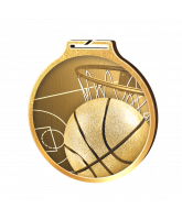 Habitat Classic Basketball Gold Eco Friendly Wooden Medal