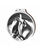 Habitat Classic Boxing Silver Eco Friendly Wooden Medal