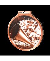 Habitat Classic Cheerleader Bronze Eco Friendly Wooden Medal