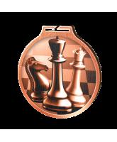 Habitat Classic Chess Bronze Eco Friendly Wooden Medal