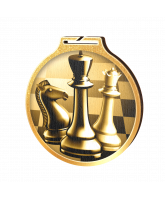Habitat Classic Chess Gold Eco Friendly Wooden Medal