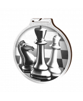 Habitat Classic Chess Silver Eco Friendly Wooden Medal