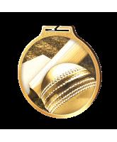Habitat Classic Cricket Gold Eco Friendly Wooden Medal