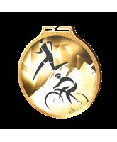 Habitat Classic Duathlon Gold Eco Friendly Wooden Medal