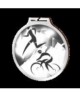 Habitat Classic Duathlon Silver Eco Friendly Wooden Medal