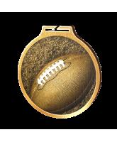 Habitat Classic Gridiron Football Gold Eco Friendly Wooden Medal