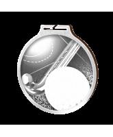 Habitat Classic Hockey Silver Eco Friendly Wooden Medal