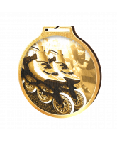 Habitat Classic Inline Skating Gold Eco Friendly Wooden Medal