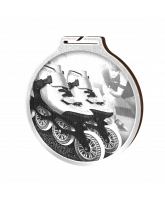 Habitat Classic Inline Skating Silver Eco Friendly Wooden Medal