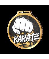Habitat Classic Karate Gold Eco Friendly Wooden Medal