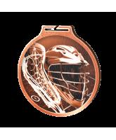 Habitat Classic Lacrosse Bronze Eco Friendly Wooden Medal